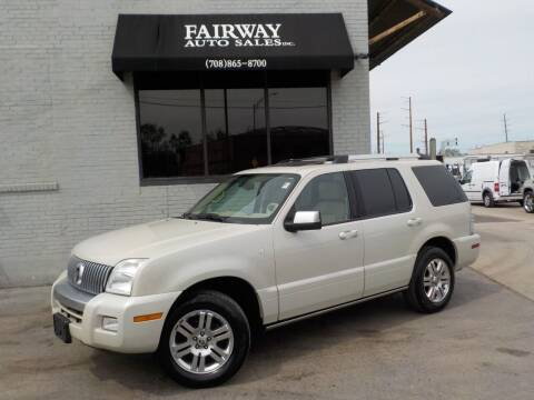 2006 Mercury Mountaineer for sale at FAIRWAY AUTO SALES, INC. in Melrose Park IL