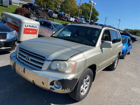 2003 Toyota Highlander for sale at Ball Pre-owned Auto in Terra Alta WV