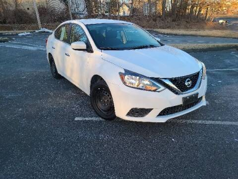 2018 Nissan Sentra for sale at BETTER BUYS AUTO INC in East Windsor CT