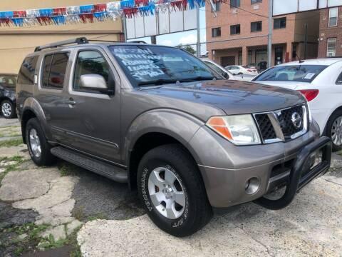 2006 Nissan Pathfinder for sale at GARET MOTORS in Maspeth NY