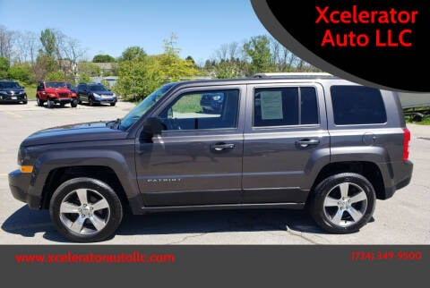 2016 Jeep Patriot for sale at Xcelerator Auto LLC in Indiana PA
