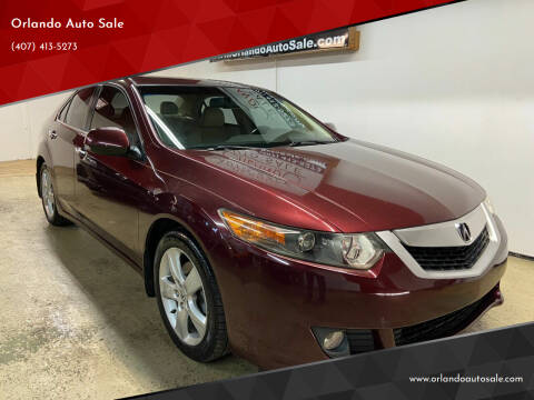 2009 Acura TSX for sale at Orlando Auto Sale in Orlando FL