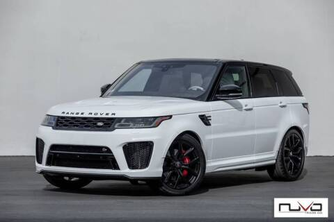 2018 Land Rover Range Rover Sport for sale at Nuvo Trade in Newport Beach CA