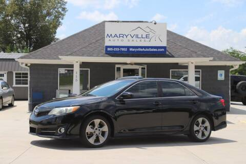 2012 Toyota Camry for sale at Maryville Auto Sales in Maryville TN