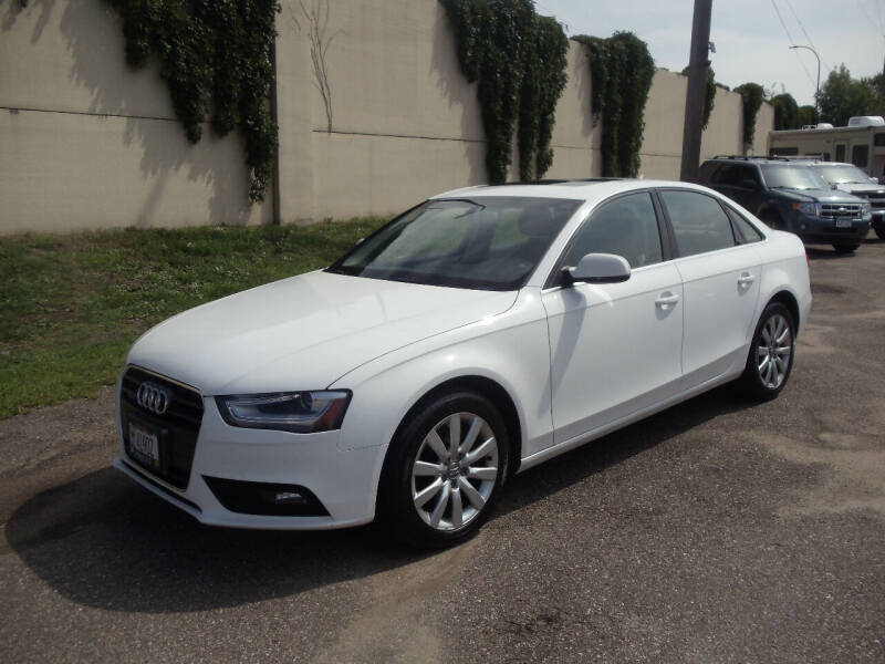 2013 Audi A4 for sale at Metro Motor Sales in Minneapolis MN
