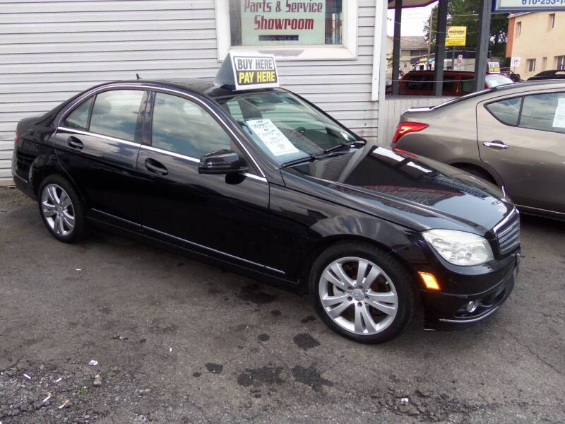 2011 Mercedes-Benz C-Class for sale at Fulmer Auto Cycle Sales - Fulmer Auto Sales in Easton PA