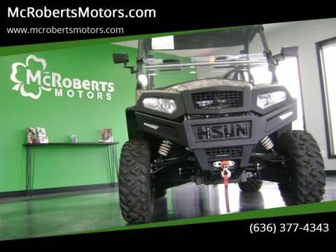 2019 HISUN SECTOR 550 for sale at McRobertsMotors.com in Warrenton MO