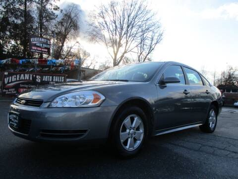 2009 Chevrolet Impala for sale at Vigeants Auto Sales Inc in Lowell MA