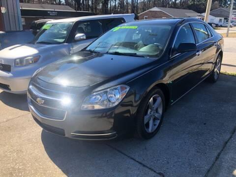 2012 Chevrolet Malibu for sale at E Motors LLC in Anderson SC