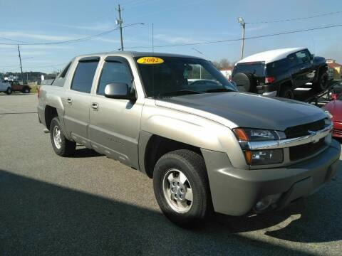 2002 Chevrolet Avalanche for sale at Kelly & Kelly Supermarket of Cars in Fayetteville NC