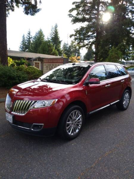 2013 Lincoln MKX for sale at Seattle Motorsports in Shoreline WA