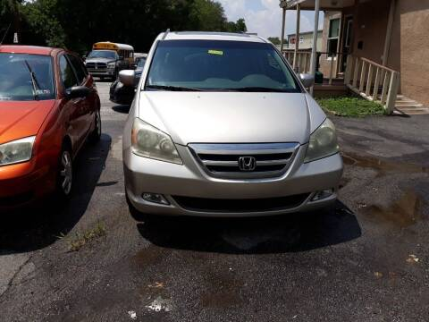 2006 Honda Odyssey for sale at GALANTE AUTO SALES LLC in Aston PA