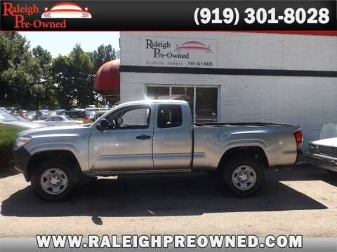 2018 Toyota Tacoma for sale at Raleigh Pre-Owned in Raleigh NC