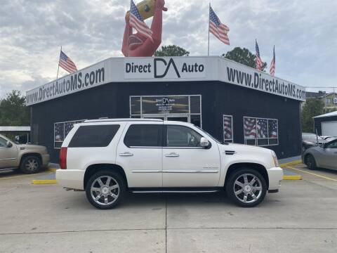 2011 Cadillac Escalade for sale at Direct Auto in D'Iberville MS