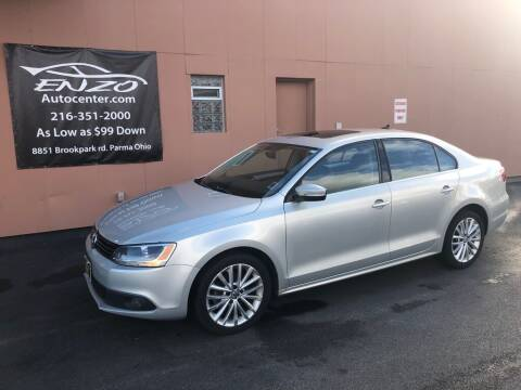 2011 Volkswagen Jetta for sale at ENZO AUTO in Parma OH