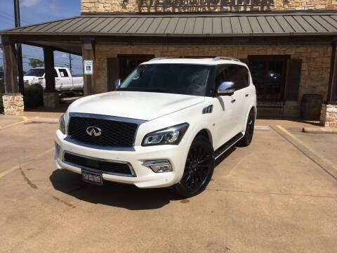 2015 Infiniti QX80 for sale at Tyler Car  & Truck Center in Tyler TX