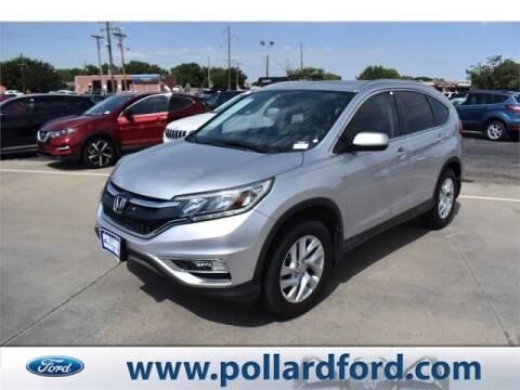2015 Honda CR-V for sale at South Plains Autoplex by RANDY BUCHANAN in Lubbock TX