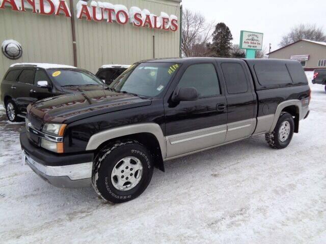 2003 Chevrolet Silverado 1500 for sale at De Anda Auto Sales in Storm Lake IA