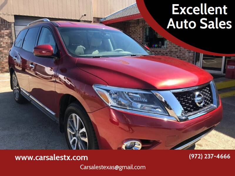 2013 Nissan Pathfinder for sale at Excellent Auto Sales in Grand Prairie TX