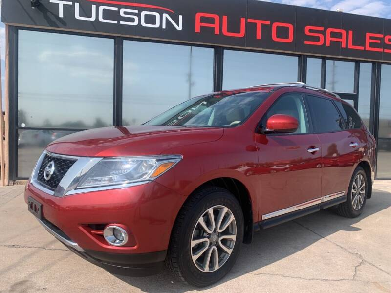 2014 Nissan Pathfinder for sale at Tucson Auto Sales in Tucson AZ