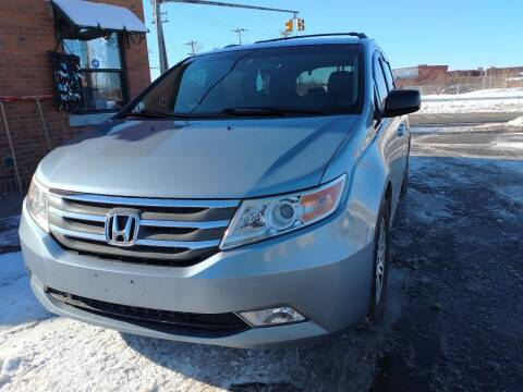 2011 Honda Odyssey for sale at Merrimack Motors in Lawrence MA