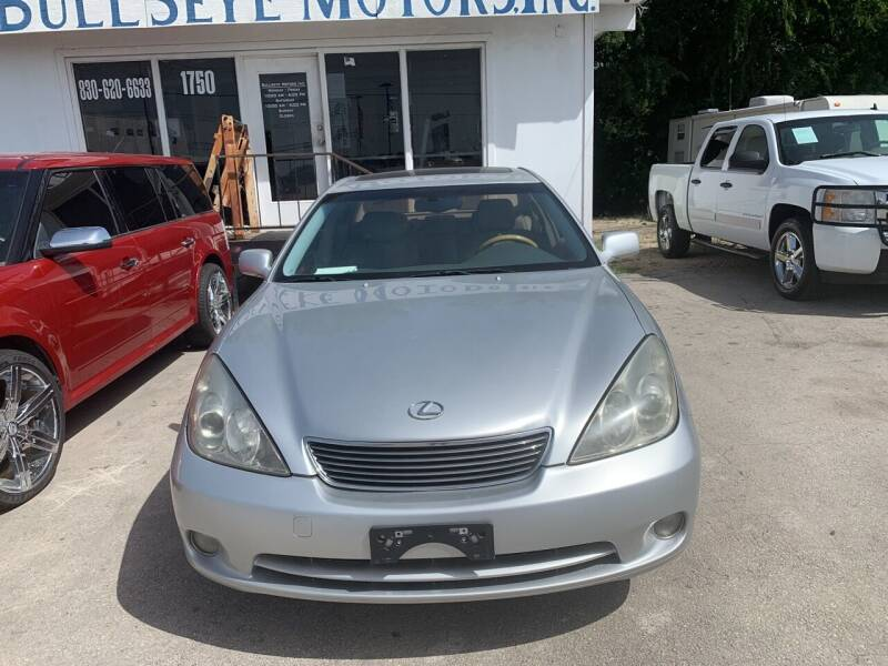 2005 Lexus ES 330 for sale at BULLSEYE MOTORS INC in New Braunfels TX