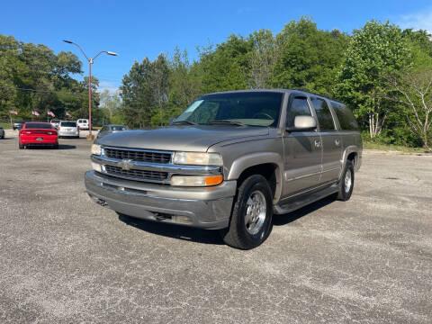 2002 Chevrolet Suburban for sale at Certified Motors LLC in Mableton GA