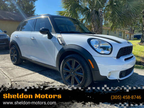 2012 MINI Cooper Countryman for sale at Sheldon Motors in Tampa FL
