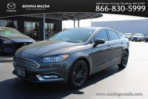 2018 Ford Fusion for sale at Bening Mazda in Cape Girardeau MO