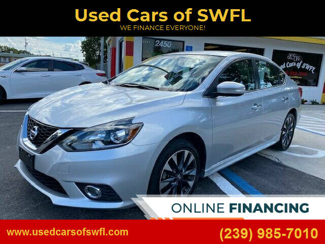 2016 Nissan Sentra for sale at Used Cars of SWFL in Fort Myers FL