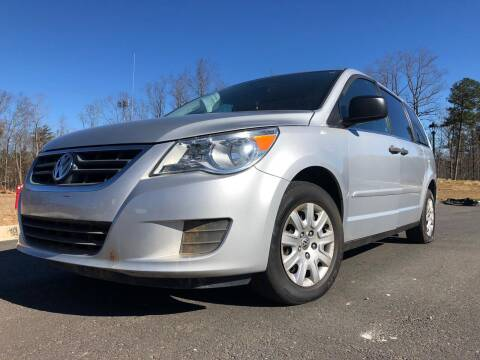 2012 Volkswagen Routan for sale at El Camino Auto Sales in Sugar Hill GA
