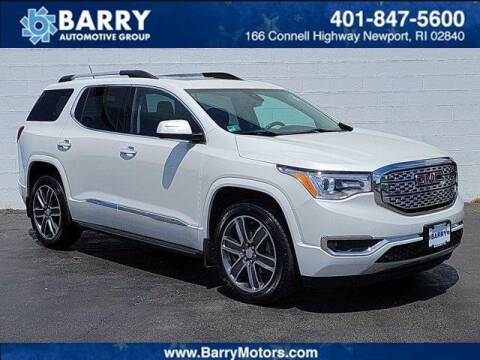2017 GMC Acadia for sale at BARRYS Auto Group Inc in Newport RI