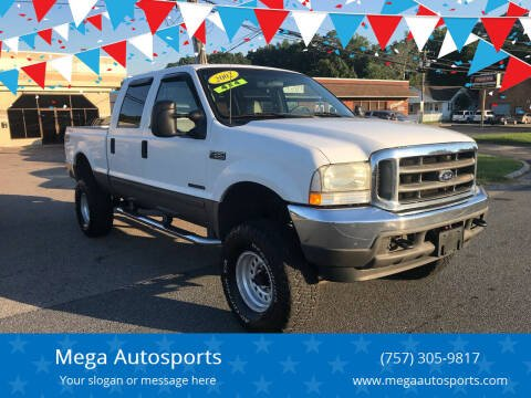 2002 Ford F-350 Super Duty for sale at Mega Autosports in Chesapeake VA
