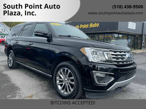 2018 Ford Expedition MAX for sale at South Point Auto Plaza, Inc. in Albany NY