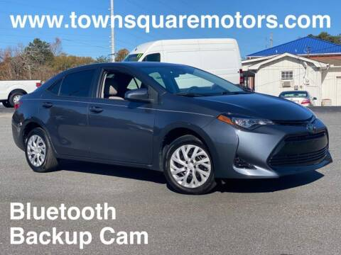 2019 Toyota Corolla for sale at Town Square Motors in Lawrenceville GA