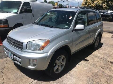 2003 Toyota RAV4 for sale at Chuck Wise Motors in Portland OR