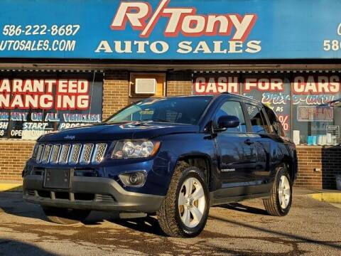 2014 Jeep Compass for sale at R Tony Auto Sales in Clinton Township MI