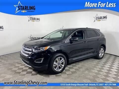2018 Ford Edge for sale at Pedro @ Starling Chevrolet in Orlando FL