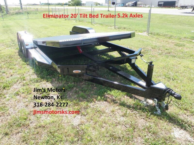2020 102 Ironworks Eliminator HH1 5.2k axles for sale at Jim's Motors in Newton KS