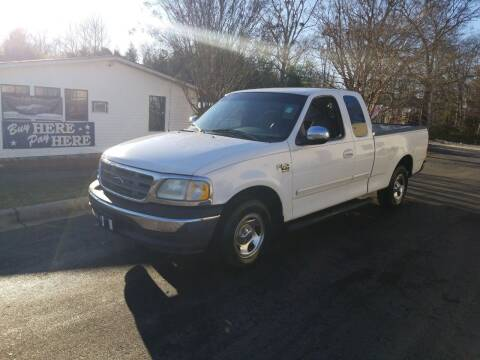 2000 Ford F-150 for sale at TR MOTORS in Gastonia NC