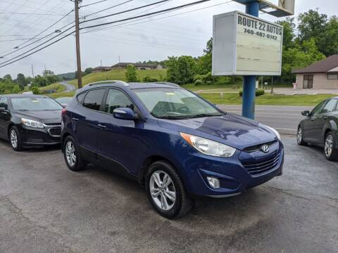 2013 Hyundai Tucson for sale at Route 22 Autos in Zanesville OH