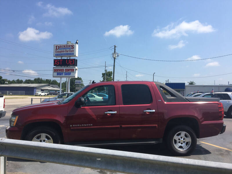 2007 Chevrolet Avalanche for sale at Deckers Auto Sales Inc in Fayetteville NC