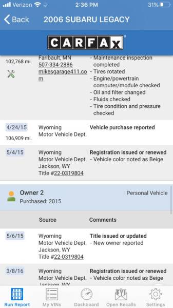 2006 Subaru Outback AWD 2.5i Special Edition 4dr Wagon - Portland OR