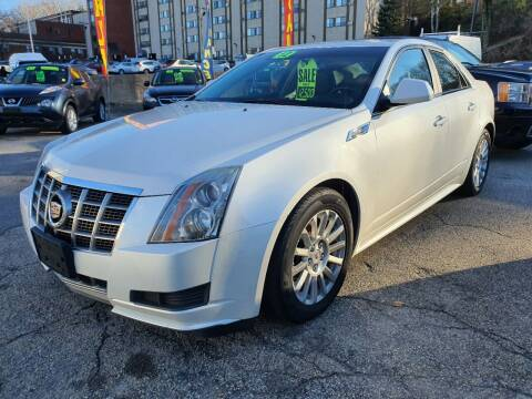 2012 Cadillac CTS for sale at Porcelli Auto Sales in West Warwick RI