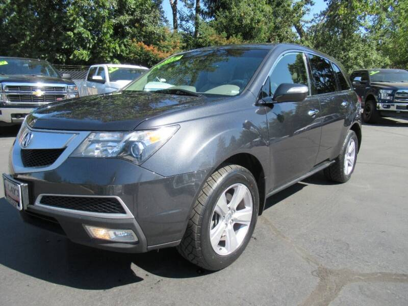 2013 Acura MDX for sale at LULAY'S CAR CONNECTION in Salem OR