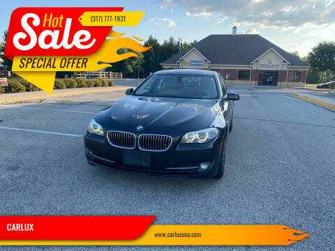 2013 BMW 5 Series for sale at CARLUX in Fortville IN