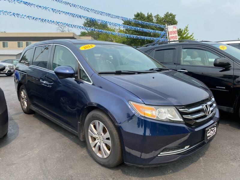 2014 Honda Odyssey for sale at WOLF'S ELITE AUTOS in Wilmington DE