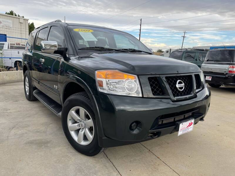 2009 Nissan Armada for sale at AP Auto Brokers in Longmont CO