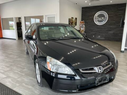 2004 Honda Accord for sale at Evolution Autos in Whiteland IN