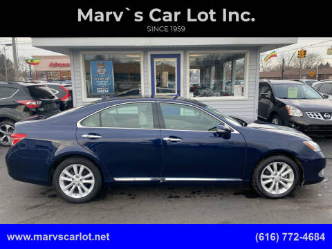 2011 Lexus ES 350 for sale at Marv`s Car Lot Inc. in Zeeland MI